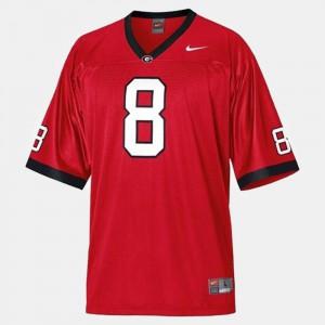 A.J. Green UGA Jersey College Football Red Men #8 134531-197