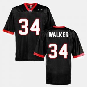 #34 Black Herschel Walker UGA Jersey For Men's College Football 161508-328