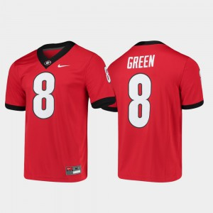 A.J. Green UGA Jersey Game For Men's Alumni Player College Football #8 Red 518259-113