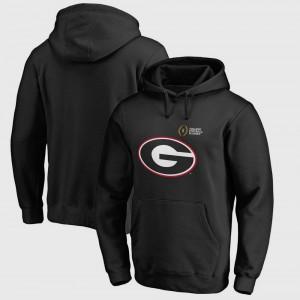 Black College Football Playoff 2018 Rose Bowl Bound Checkdown For Men Bowl Game UGA Hoodie 620189-747