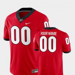 Red 2018 Game UGA Customized Jersey College Football Men's #00 280666-856