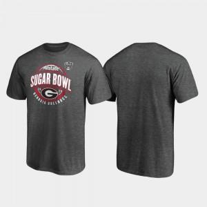 Men 2020 Sugar Bowl Bound UGA T-Shirt Heather Gray Scrimmage 460987-871