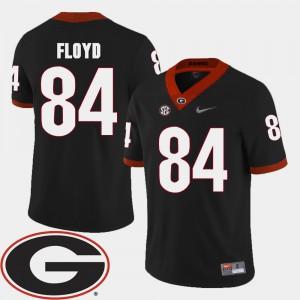 Leonard Floyd UGA Jersey #84 Men's Black 2018 SEC Patch College Football 162818-494