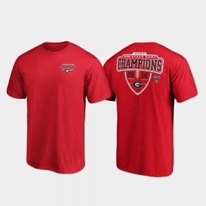 Red For Men 2020 Sugar Bowl Champions UGA T-Shirt Hometown Lateral 880728-611
