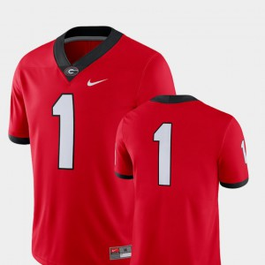 2018 Game Mens UGA Jersey Red College Football #1 512744-598