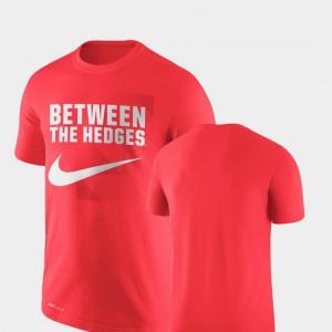 Legend Franchise Men's Performance UGA T-Shirt Red 989919-954