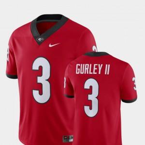 #3 Alumni Football Game Todd Gurley II UGA Jersey Men Red Player 392428-942