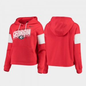 Red Local UGA Hoodie Pullover Women 819097-463