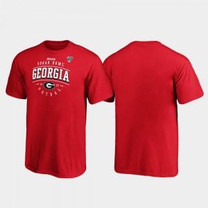 Kids UGA T-Shirt Tackle Red 2020 Sugar Bowl Bound 754052-729