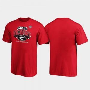 Red Receiver UGA T-Shirt 2020 Sugar Bowl Champions Youth(Kids) 397301-434